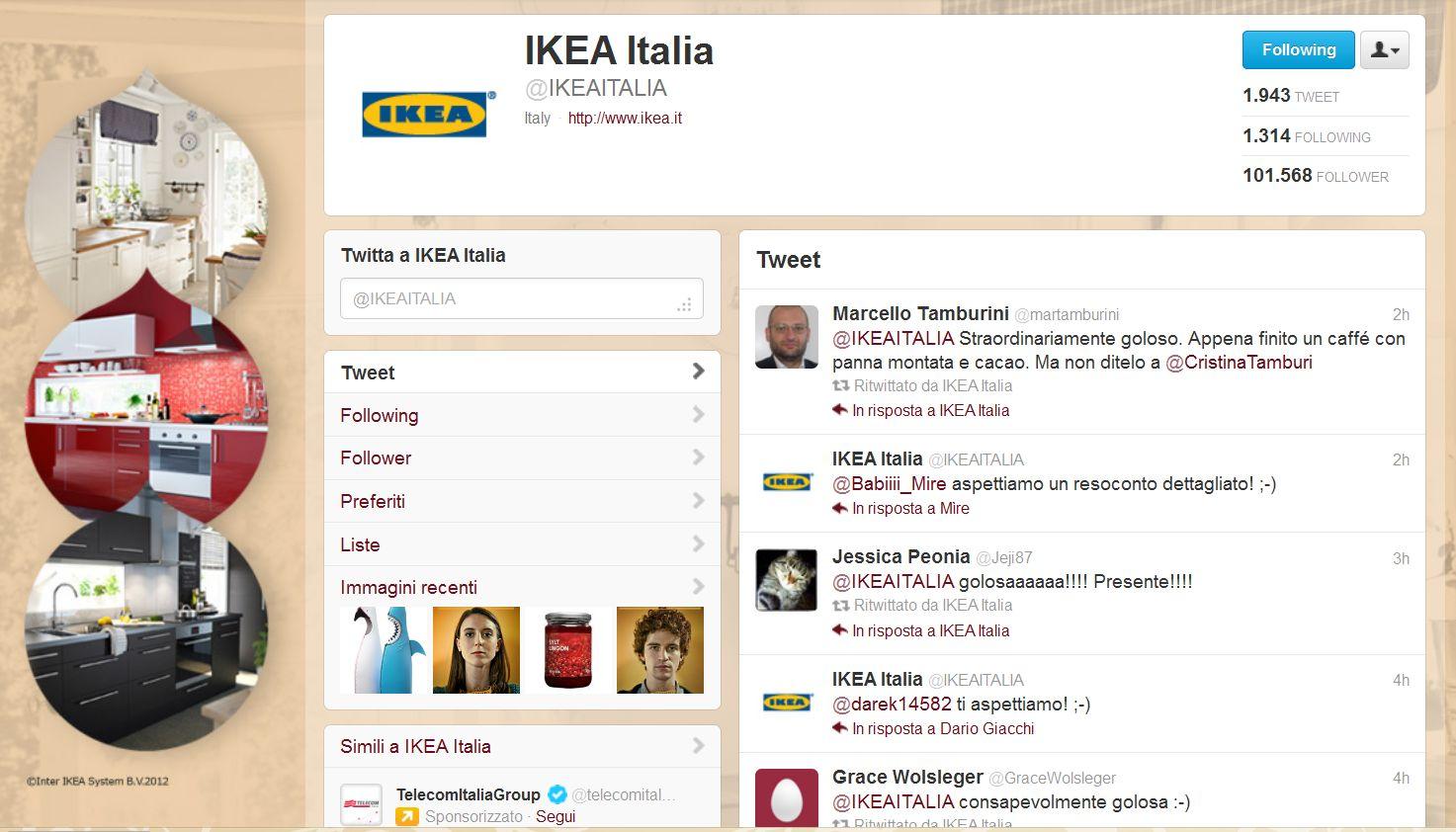 Twitter: il caso di Ikea Italia che ha raggiunto i 100.000 ... - photo#14